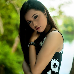 The Beauty by Agung Blade - People Portraits of Women