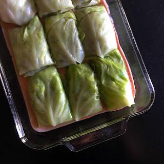 Low Carb Stuffed Cabbage Rolls Recipe