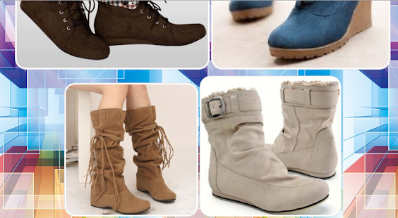 Fashion Shoes Boots Latest Woman - náhled