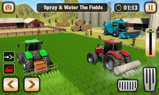 Real Tractor Driver Farm Simulator -Tractor Games apktreat screenshots 2