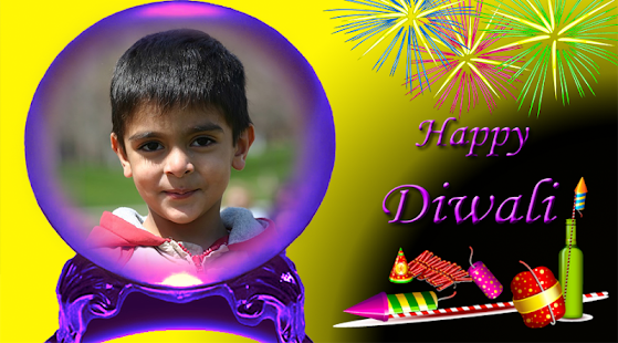 Happy DIwali Photo Frame - náhled