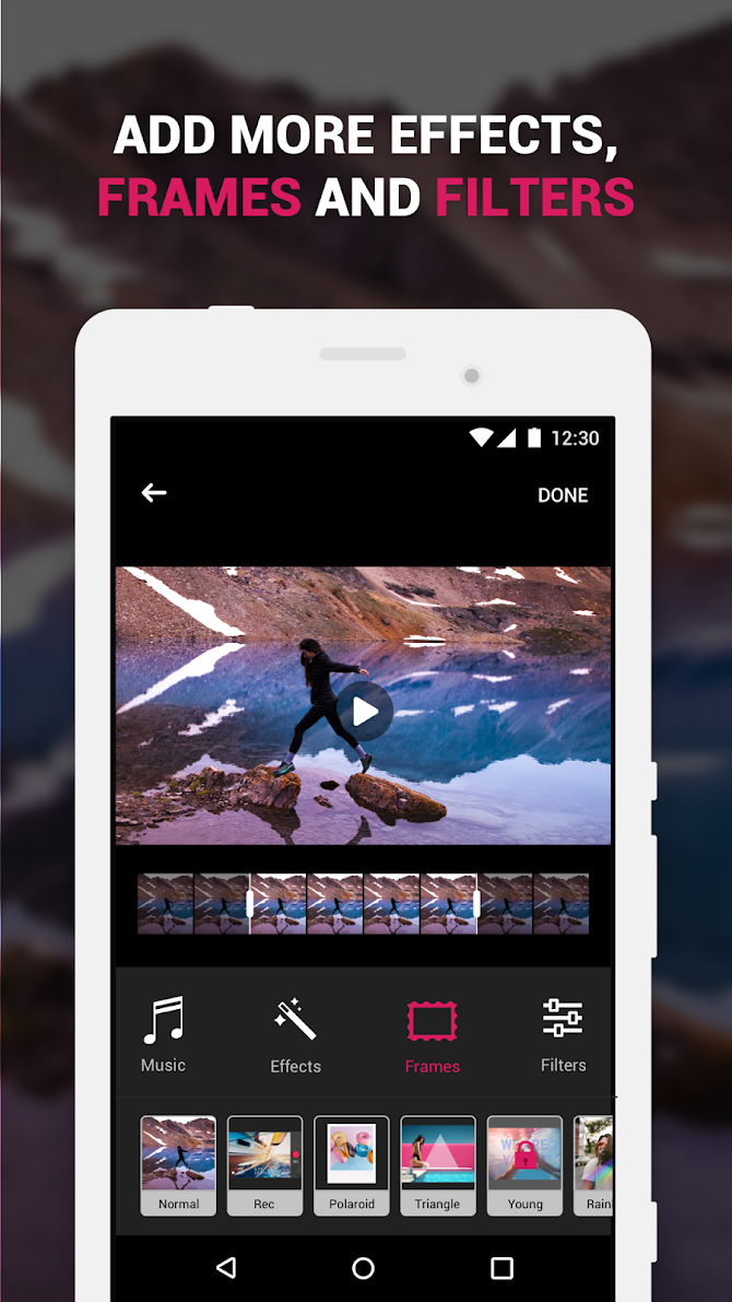 ✅ Efectum – Reverse Cam, Slow Motion, Fast Video Android 3