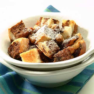 Nesquik Bread Pudding.