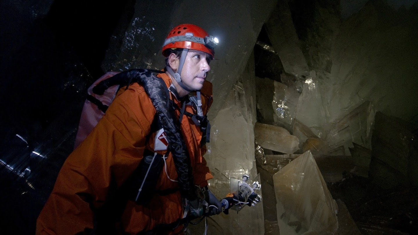 Watch Into the Lost Crystal Caves live