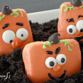jack-o-lantern Halloween cookies