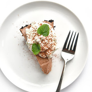 Irish Cream Chocolate Pie.