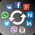 Social Contact Photo Sync icon