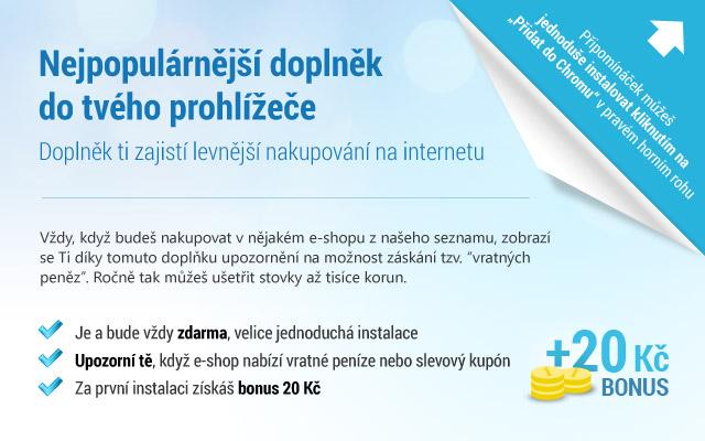 VratnePenize.cz Připomínáček