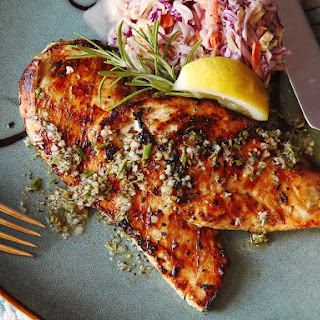 5-Minute Grilled Chicken Cutlets With Rosemary, Garlic, and Lemon.
