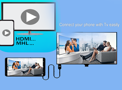 MHL HDMI USB Connector phone with tv 2.1 APK with Mod + Data 1