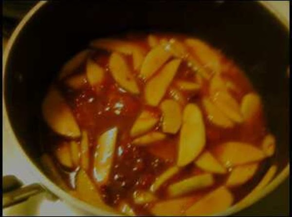 Filling: In a med saucepan, combine apples, plums, sugar, water, corn starch, and salt.cook...