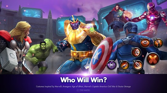 MARVEL Future Fight 3.3.0 (Unlimited Gold/Crystal/Energy) Mod Apk 2