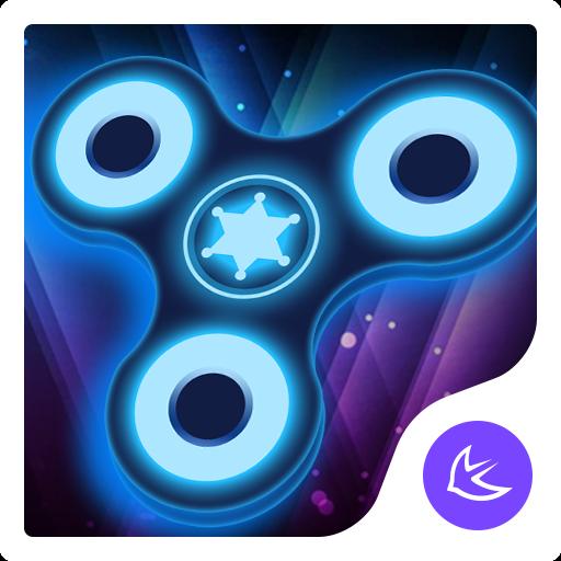 Fidget spinner theme