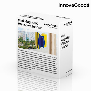 Dispozitiv magnetic pentru sticla, Mini Magnetic Window Cleaner