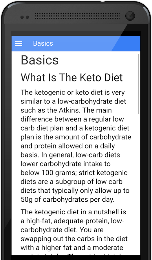 Keto Diet Guide and Calculator - Android Apps on Google Play