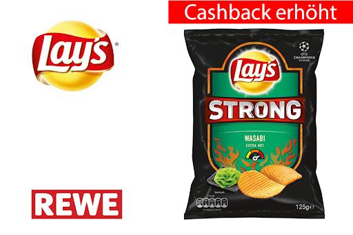 Bild für Cashback-Angebot: Lay's Strong Wasabi - Lay'S