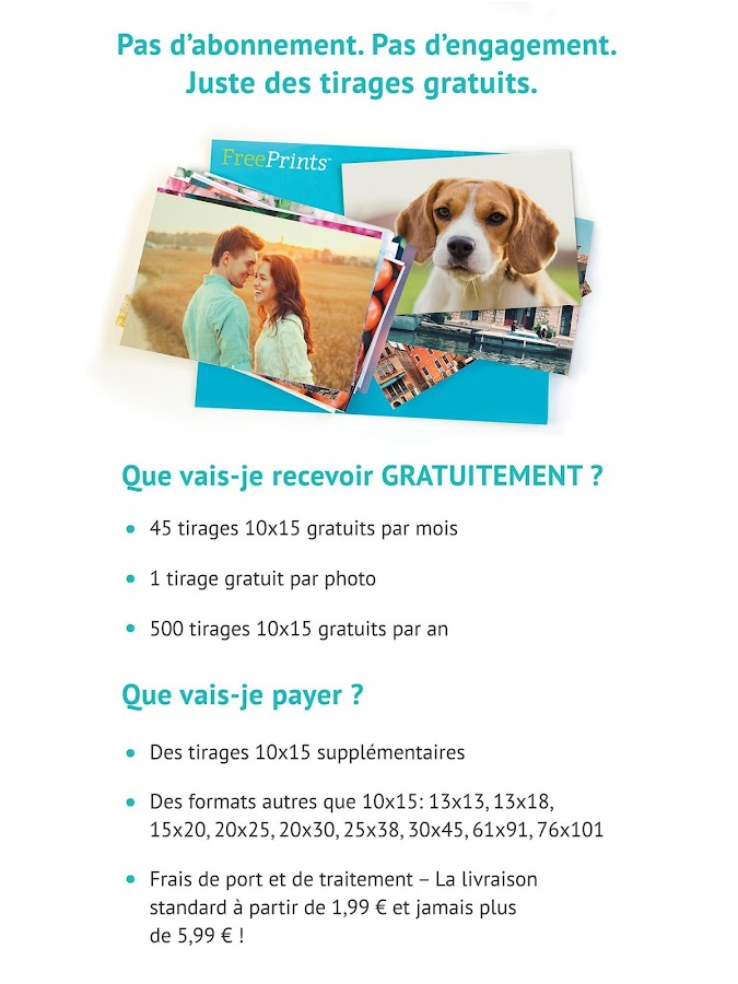 FreePrints - Photos gratuites- screenshot