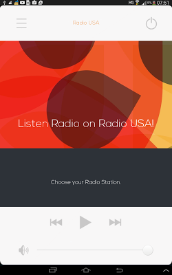 All US radios, Radio USA - screenshot