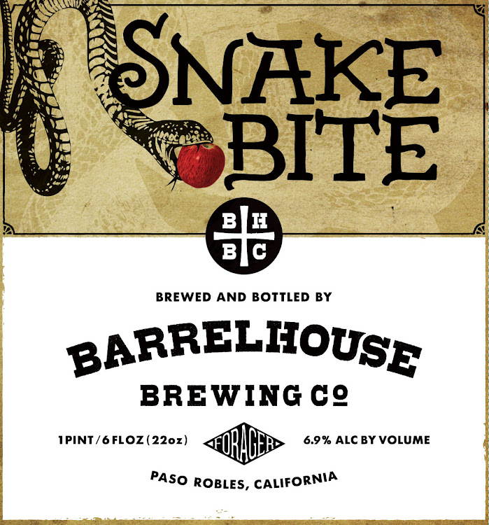 Logo of BarrelHouse Snake Bite | Co-fermented Cider and Saison Yeast