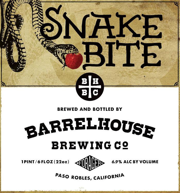 Logo of BarrelHouse Snake Bite   Co-fermented Cider and Saison Yeast
