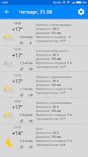 MeteoScope - Точная погода - náhled