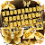 Gold Butterfly Keyboard Theme file APK for Gaming PC/PS3/PS4 Smart TV