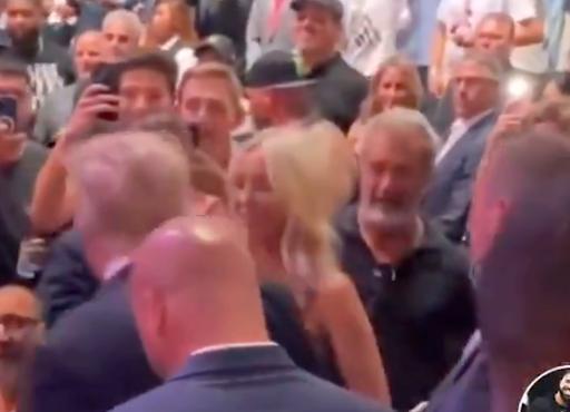 Wait – Did Donald Trump Just Snub Mel Gibson at Fight Night?
