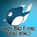Crazy Bird Flying Whole World icon