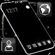 Black Theme Launcher apk