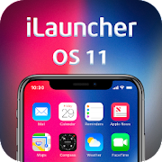 iLauncher X theme for Android: OS Theme Launcher