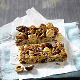 Hazelnut and Cranberry Granola Bars.