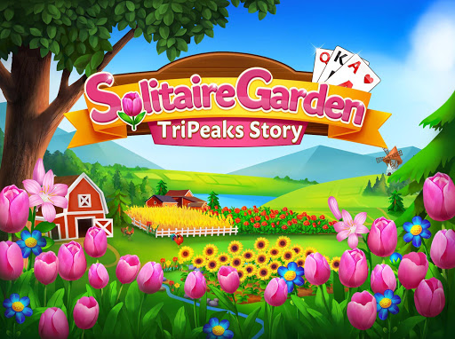 Solitaire Garden - TriPeaks Story android2mod screenshots 10