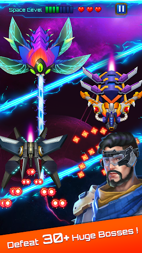 Space attack - infinity air force shooting screenshot 8
