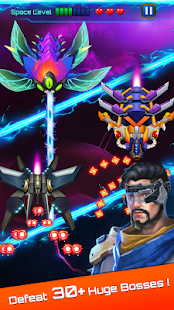 Space attack - infinity air force shooting