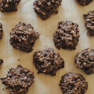 Chocolate Coconut Oatmeal Clusters.