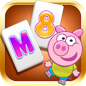 Mahjong for kids - Piggy Free