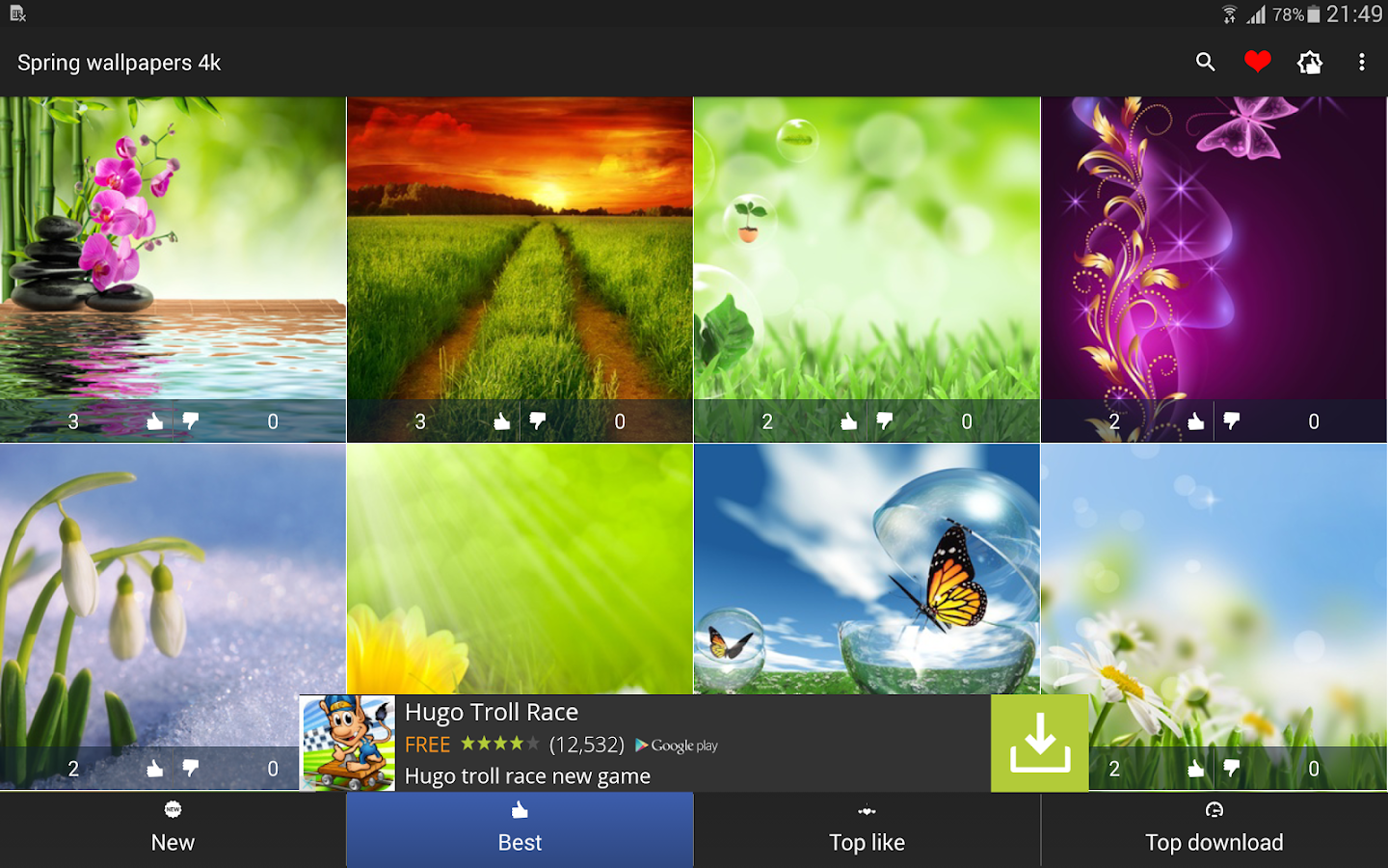 Spring wallpapers 4k  Android Apps on Google Play