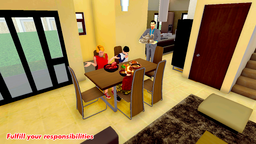 Family Dad Life:Virtual Dad Mom Family Simulator 2 screenshots 1