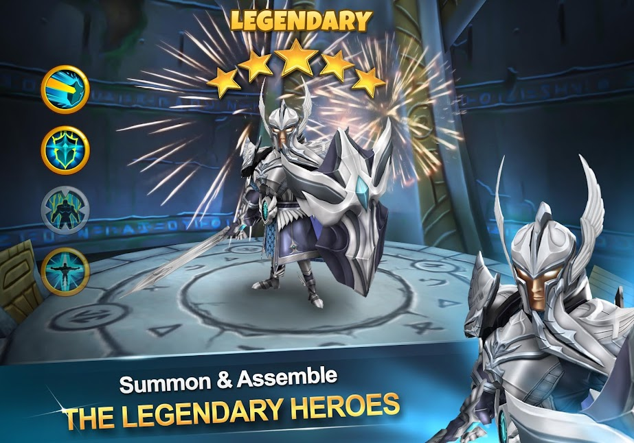 Heroes Guardian mod v1 0 2 apk download - Dark Genesis | ApkMagic