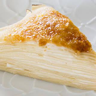 Maple Mille Crêpes Cake.