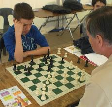 Photo: Auguste, jeune espoir Palois, en pleine concentration. C'est toujours un régal d'entendre des jeunes donner des conseils à leurs aînés