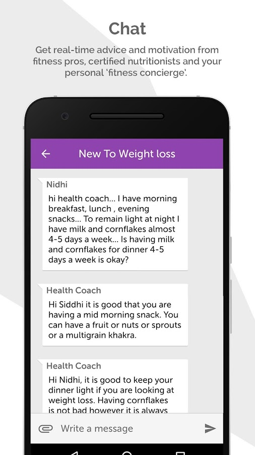 Revofit - Weight Loss Coach- screenshot