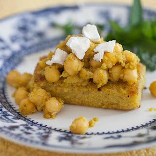 Curry Chickpeas & Polenta.