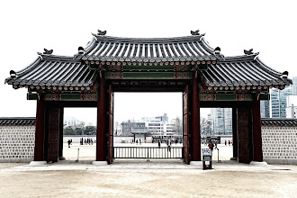 Photo: This is one of the four gates - Gwanghwanmun.