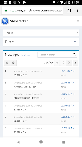 SMS Tracker (TM) for PC
