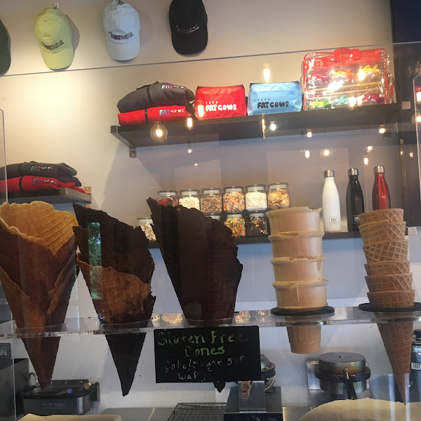 All cones can be gluten free