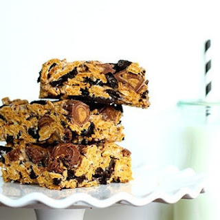 Oreo & PB Cup Golden Graham Bars.