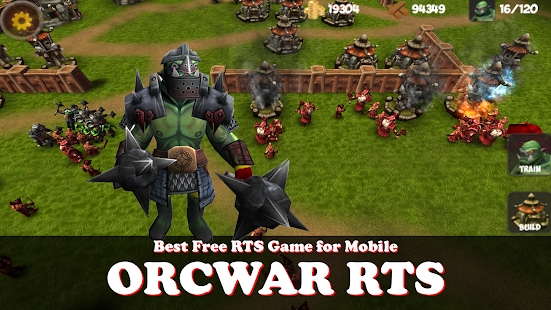 OrcWar Clash RTS screenshot