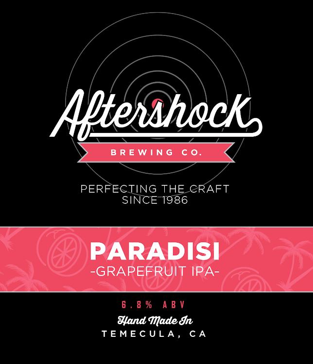Logo of Aftershock Paradisi Grapefruit IPA