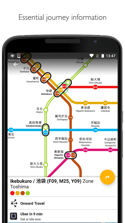 how to use tokyo metro